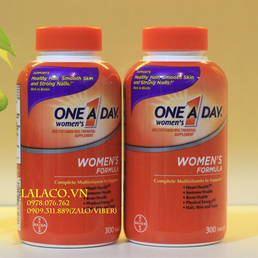 Viên uống One A Day Women Multivitamin 300 Viên Mỹ...