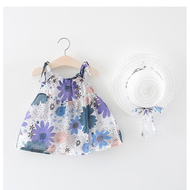 Combo 4 set váy kèm mũ dành cho bé gái - 3038230 , 1155011259 , 322_1155011259 , 316000 , Combo-4-set-vay-kem-mu-danh-cho-be-gai-322_1155011259 , shopee.vn , Combo 4 set váy kèm mũ dành cho bé gái