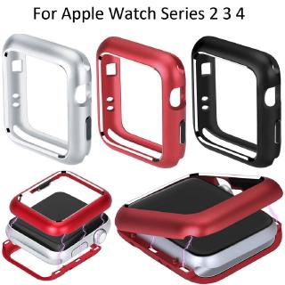Magnetic Metal Frame Alloy Cover Apple Watch For Series 4 3 2 1 Case 44mm 40mm 38mm 42mm Magnet Case
