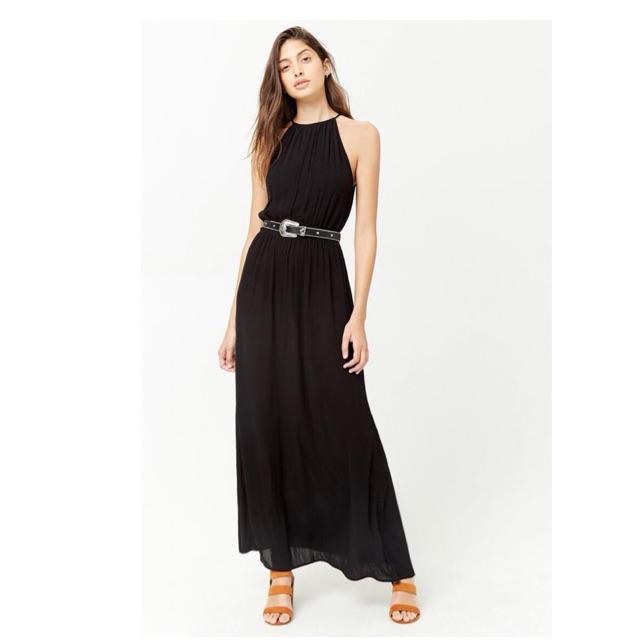 Váy maxi yếm f21 dư xịn