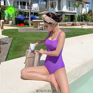 [mingyuan] 2020 A gong Yellow gray purple sling triangle beach vacation swimwear women thumbnail