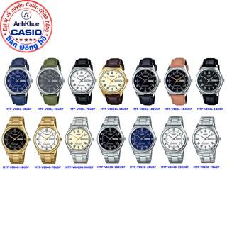 Đồng hồ nam Casio MTP-V006 MTP-V006L MTP-V006GL bảo hành 1 năm chính hãng Anh Khuê dây da sang trọng thumbnail