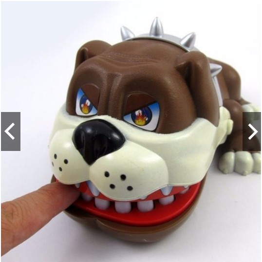 Đồ chơi khám răng chú chó