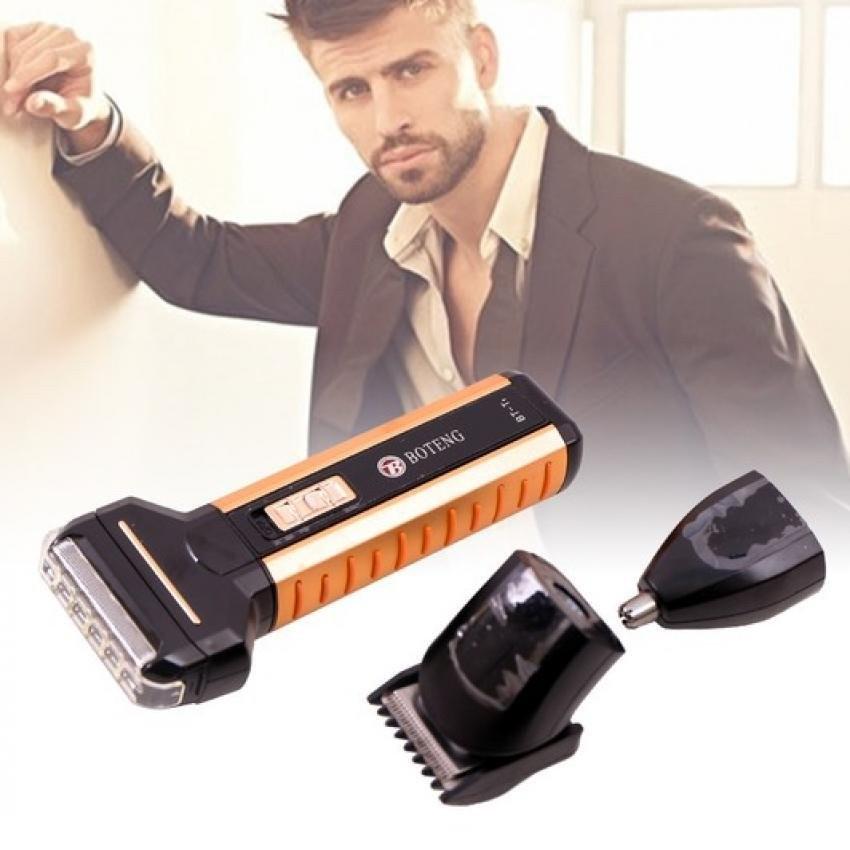 Máy cạo râu, cắt tóc, tỉa lông mũi Boteng 3 in 1 cao cấp - 9935922 , 1230977094 , 322_1230977094 , 150000 , May-cao-rau-cat-toc-tia-long-mui-Boteng-3-in-1-cao-cap-322_1230977094 , shopee.vn , Máy cạo râu, cắt tóc, tỉa lông mũi Boteng 3 in 1 cao cấp
