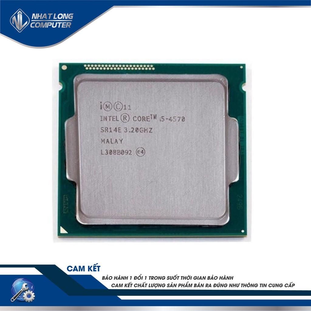 Bộ Xử Lý CPU Intel® Core™ I5-4570 (6M Bộ Nhớ Đệm, Tối Đa 3,60 GHz) đã qua sử dụng Giá chỉ 1.850.000₫