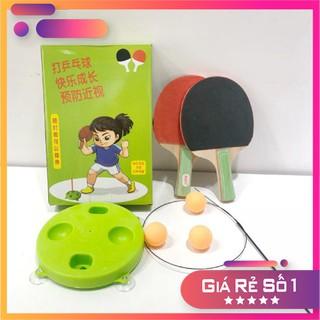 Bộ bóng bàn hỗ trợ phát triển thể chất danh cho bé đồ chơi giáo dục phát triển thể chất