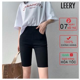 Quần legging đùi, co giãn 4 chiều, chất cotton thoáng khí LEG-03 - LEERY thumbnail