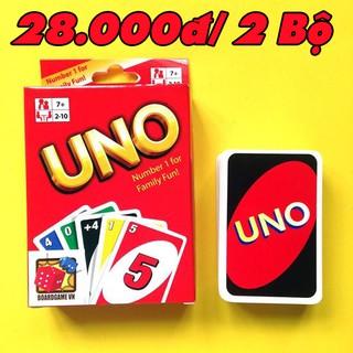 Combo 2 bộ bài UNO giấy cứng – Gía siêu HOT