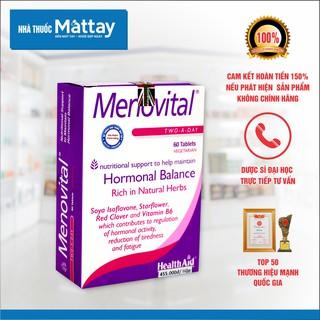 Menovital - HealthAid - Hộp 60 Viên - Cân bằng Nội Tiết Tố, Chống Lão Hóa, Làm Đẹp Da [Date xa] thumbnail