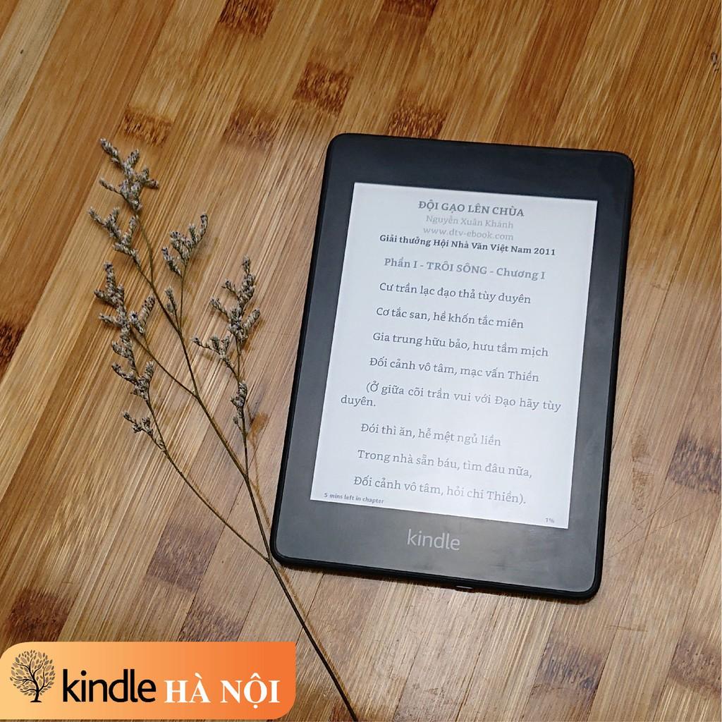 Máy đọc sách Kindle Paperwhite gen 4 (10th) màn hình 6inch 300PPI, Darkmode, chống nước, nghe Audible