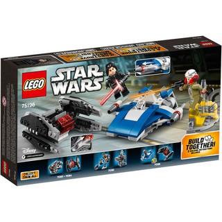 Mua Đồ Chơi LEGO Star Wars 75196 – Phi Thuyền A-Wing Và TIE Silencer