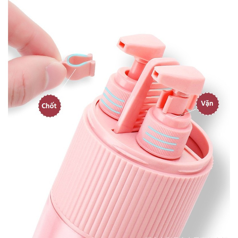 Hộp đựng dụng cụ vệ sinh cá nhân bàn chải, kem đánh răng,sữa tắm dầu gội du lịch mẫu mới 2019 -Cao Cấp