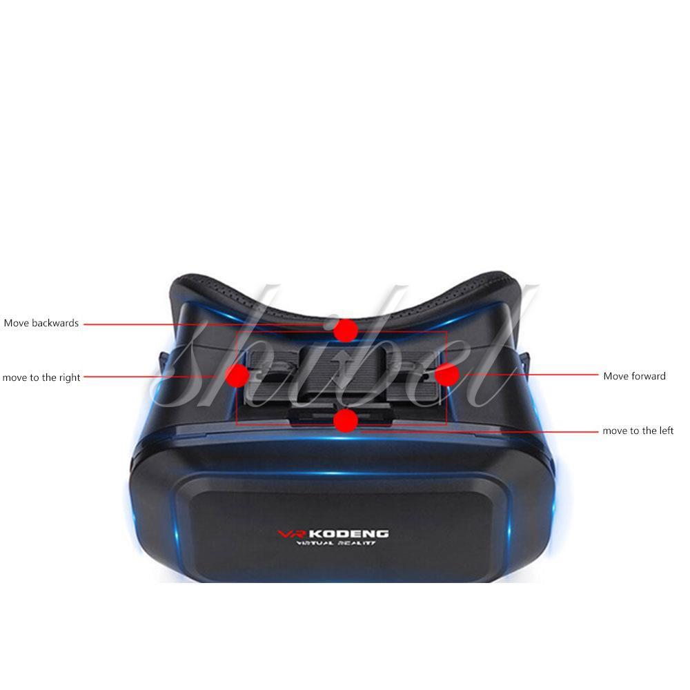 VR Headset Glasses 3D VR Glasses Travel Portable Aspheric Lens Head-Mounted
