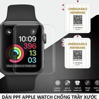 Miếng Dán Màn Hình Đồng Hồ Apple Watch Series 1/2/3/4/5 Các Size 38, 40, 42, 44