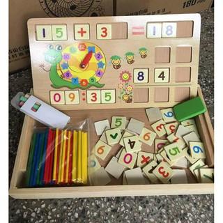 Bảng que tính giúp bé học toán