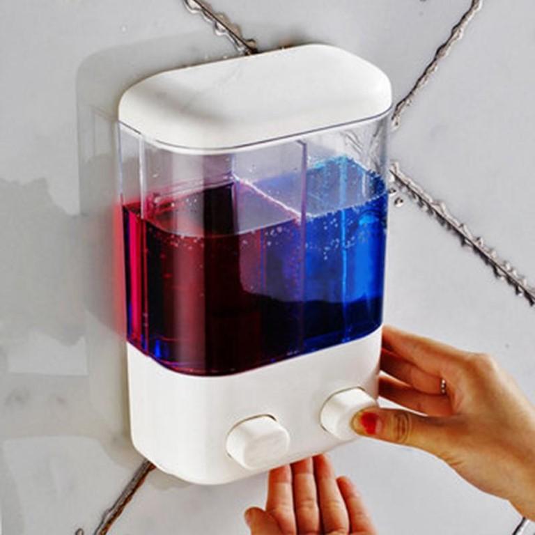 Hộp sữa tắm dầu gội đôi được thiết kế 2 ngăn - 3130730 , 1282939949 , 322_1282939949 , 115000 , Hop-sua-tam-dau-goi-doi-duoc-thiet-ke-2-ngan-322_1282939949 , shopee.vn , Hộp sữa tắm dầu gội đôi được thiết kế 2 ngăn