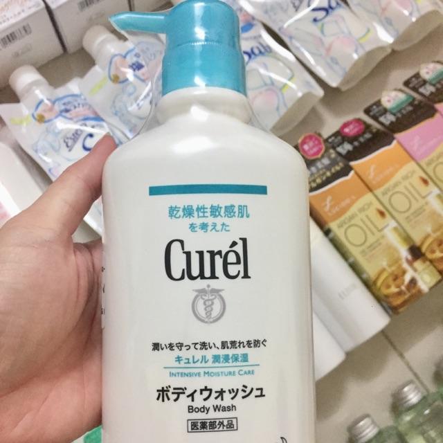 Sữa tắm Curel