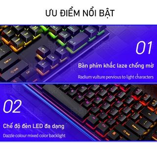 Hình ảnh Bàn Phím Máy Tính Gaming RGB SIDOTECH YINDIAO V4 Có Dây / Đèn LED RGB Chống Nước Chơi Game Máy Tính Esport - Chính Hãng-4