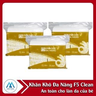 Khăn khô đa năng F5 clean của DHTI