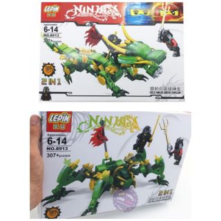 lego ninjago rồng/nhện 2trong1 Lepin8913