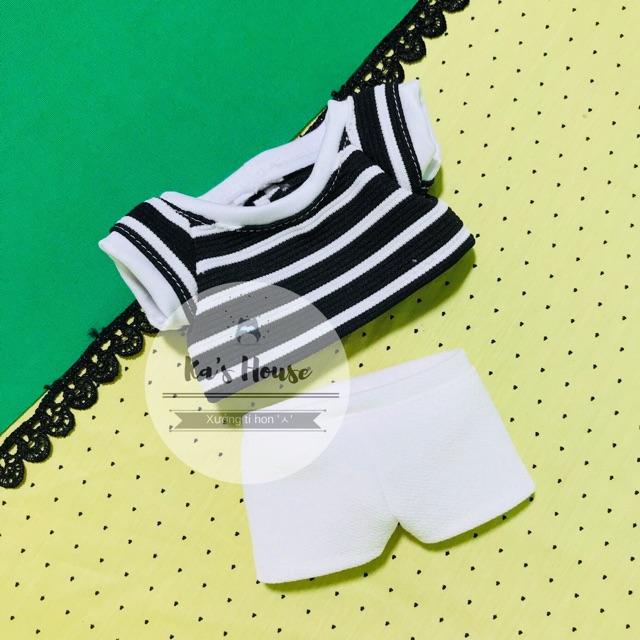 {15cm/20cm} Set bộ áo quần cho doll 15cm và 20cm