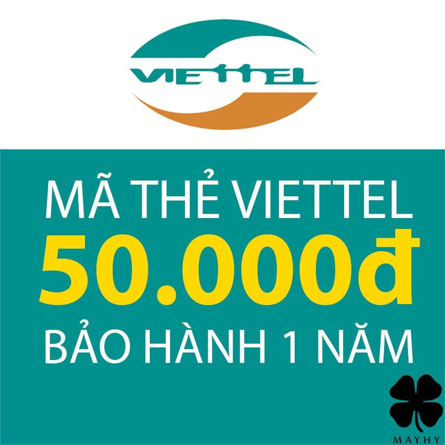 Mã Thẻ Viettel 50.000