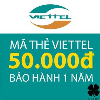 Mã Thẻ Điện Thoại Viettel 50.000
