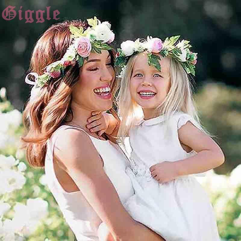 Vòng hoa phong cách Boho cho mẹ và bé - 22730346 , 2102539582 , 322_2102539582 , 52273 , Vong-hoa-phong-cach-Boho-cho-me-va-be-322_2102539582 , shopee.vn , Vòng hoa phong cách Boho cho mẹ và bé