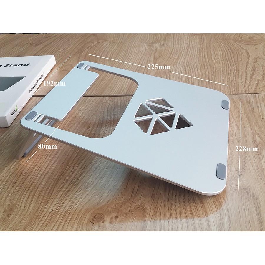 [Mã SKAMPUSHA7 giảm 8% đơn 250k]Giá đỡ nhôm cao cấp JCPAL cho Macbook- Laptop (bạc)