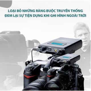 Mic gắn máy quay Takstar SGC-100W, Micro không dây cho máy ảnh, máy quay Takstar SGC-100W.