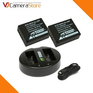 Bộ 2 pin và sạc đôi Wasabi NPW126 cho Fujifilm X-A1, X-A2, X-A3, X-A10, X-E1, X-E2, X-E2s, X-M1, X-Pro1, X-Pro 2, X-T1