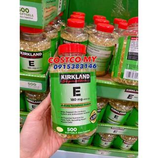 Hàng Mỹ 🇺🇸 Hộp đựng Vitamin E 400IU 500 viên