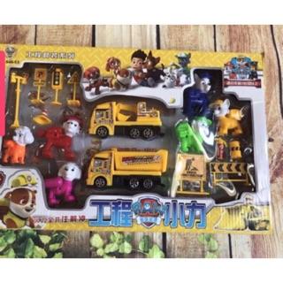 [Mã DOCHTRE19 giảm 15K đơn từ 200K] Hộp đồ chơi chó Paw cứu hộ dành cho bé