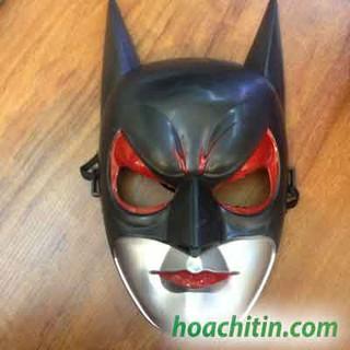 Mặt Nạ Batman Nguyên Mặt Anh Hùng Avenger Halloween