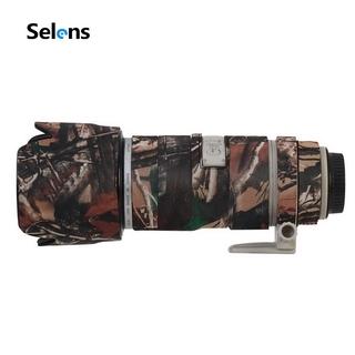 Vỏ Bọc Máy Ảnh Selens Dành Cho Canon 70-200mmf2.8is Neoprene Camera Họa Tiết Camo