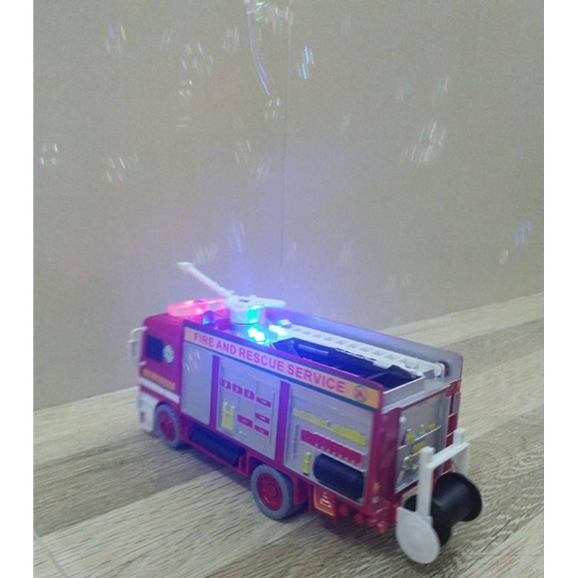 Hộp Xe Cứu Hỏa Bong Bóng , Chạy Pin Nhạc (kèm ảnh và clip)!!
