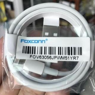 Cáp sạc iPhone iPad Airpods Lightning FOXCONN 5V-1A Sạc nhanh Siêu bền Bảo đảm dòng điện thumbnail