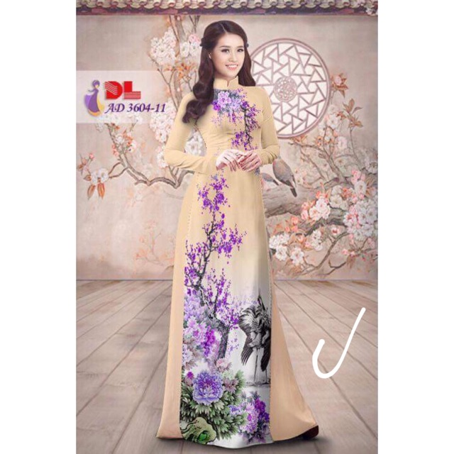 Vải áo dài in hoa 3D - 3001538 , 512966053 , 322_512966053 , 230000 , Vai-ao-dai-in-hoa-3D-322_512966053 , shopee.vn , Vải áo dài in hoa 3D