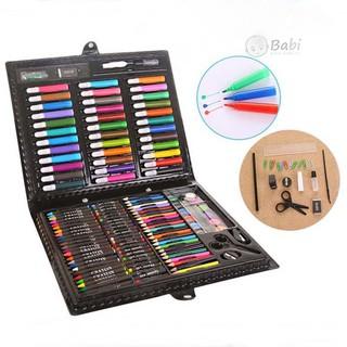 Đồ chơi hộp bút màu 150 chi tiết cho bé- vừa học vừa chơi