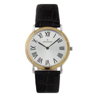 Đồng hồ nam chính hãng Hàn Quốc Romanson TL5111MCWH, máy Thụy Sĩ, miễn phí thay pin - Galle Watch