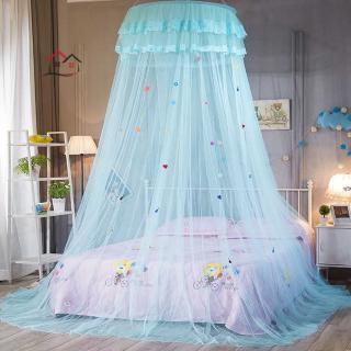 Rèm Chống Muỗi Hình Tròn Phong Cách Công Chúa Cho Phòng Ngủ
