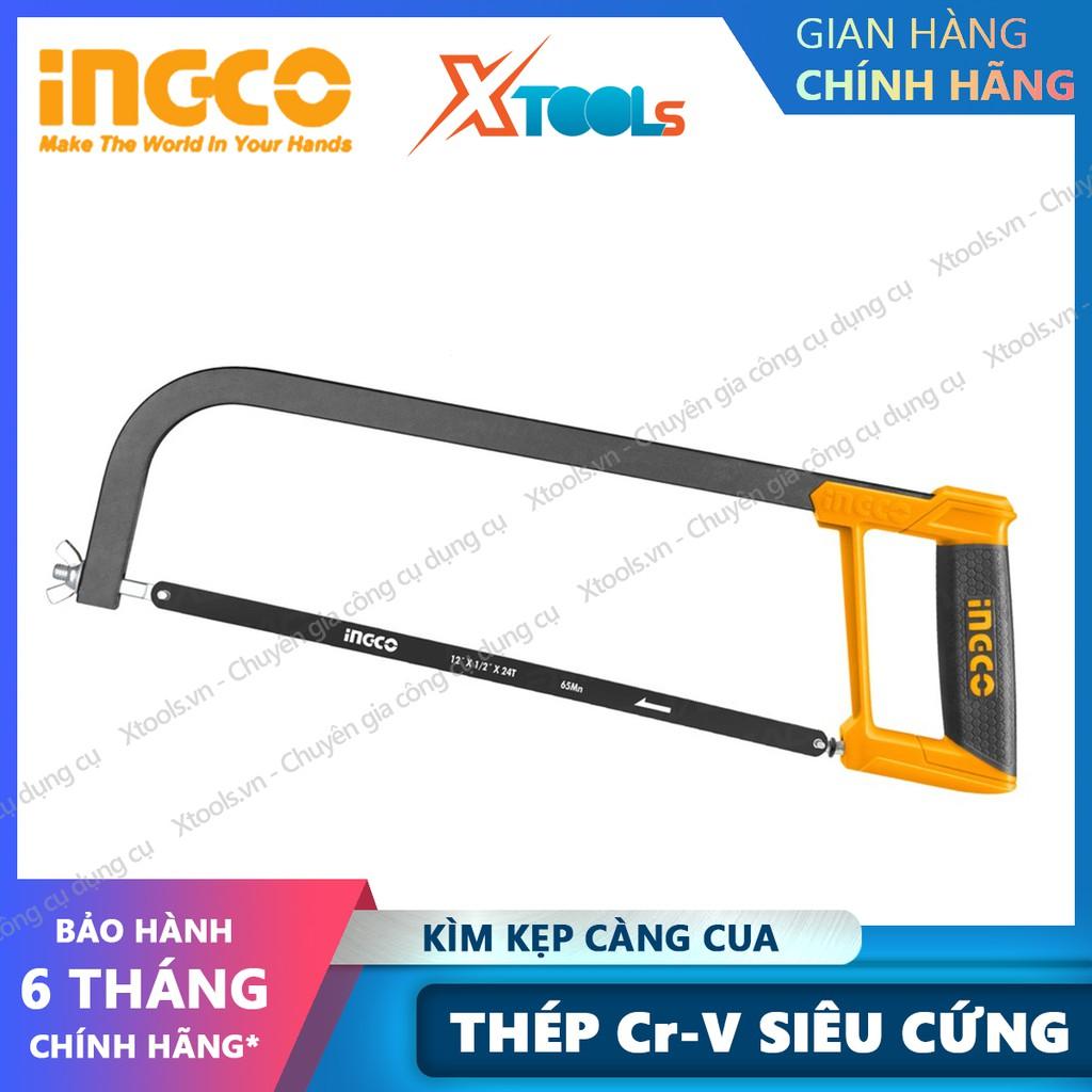 Cưa sắt kim loại cầm tay INGCO HHF3028 12inch hợp kim chống rỉ sét va đập thao tác cưa cắt nhanh chóng hiệu quả cao