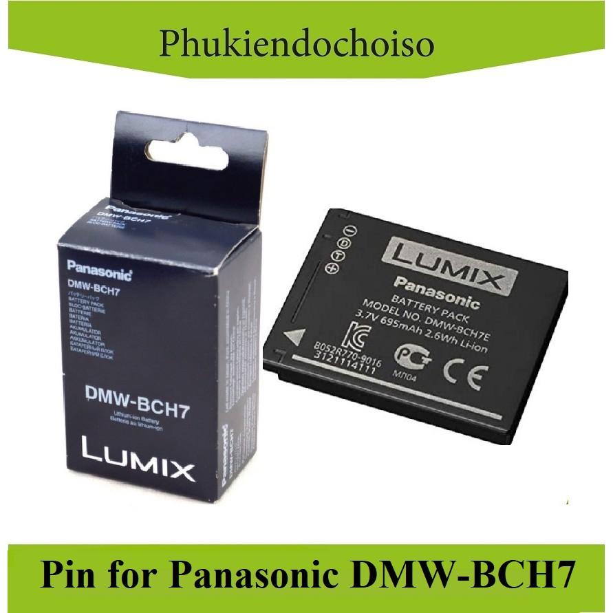 Pin thay thế pin máy ảnh for Panasonic DMW-BCH7, Hàng nhập khẩu