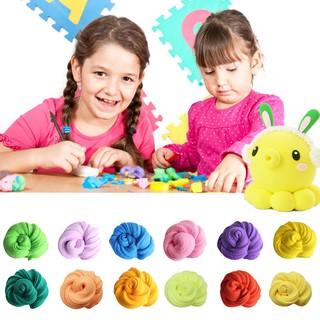 Fluffy Slime Floam Plasticine Adhd Autism Stress Relief Kids Toy