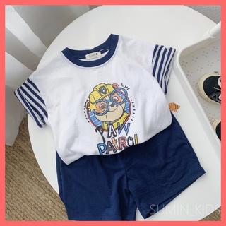 Bộ cộc tay thể thao bé trai – Quần áo trẻ em Sumin Kids – Chú chó cứu hộ Paw Patro