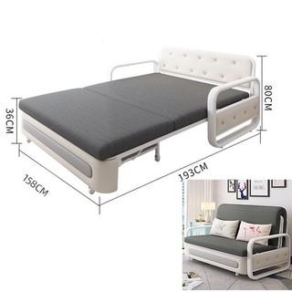 Sofa Giường Đa Năng, Giường Sofa Gấp Gọn TẶNG 02 Gối (Có ngăn chứa đồ) KT 1m5 x 1m93