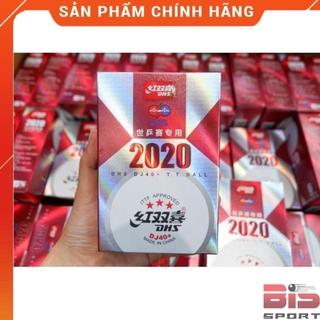 Quả Bóng Bàn 3 sao DHS Busan 2020 Chính Hãng chuẩn thi đấu thế giới – Hộp 6 quả