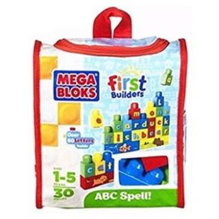 Bộ xếp hình Mega Bloks First Builders 30 miếng (chữ cái)