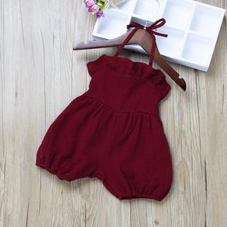 Quần yếm dễ thương thời trang mùa hè năng động dành cho bé gái