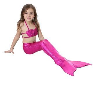 Đồ bơi nàng tiên cá đủ màu cho bé gái 120cm đến 150cm